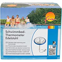 Schwimmbadthermometer - Thermometer Edelstahl Summer fun