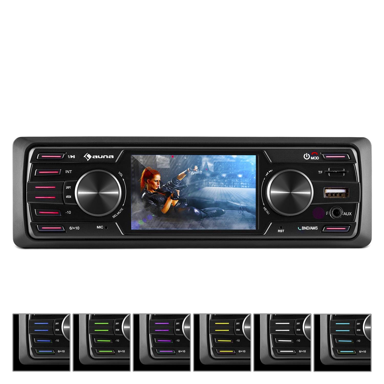 auna MD-550BT • Autoradio • Car-Radio •: Amazon.de: Elektronik