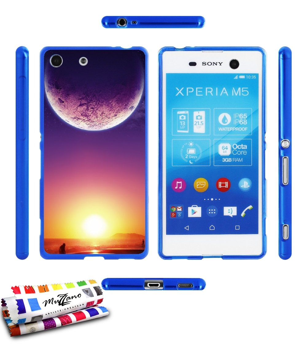 Carcasa Flexible Ultra-Slim SONY XPERIA M5 de exclusivo ...