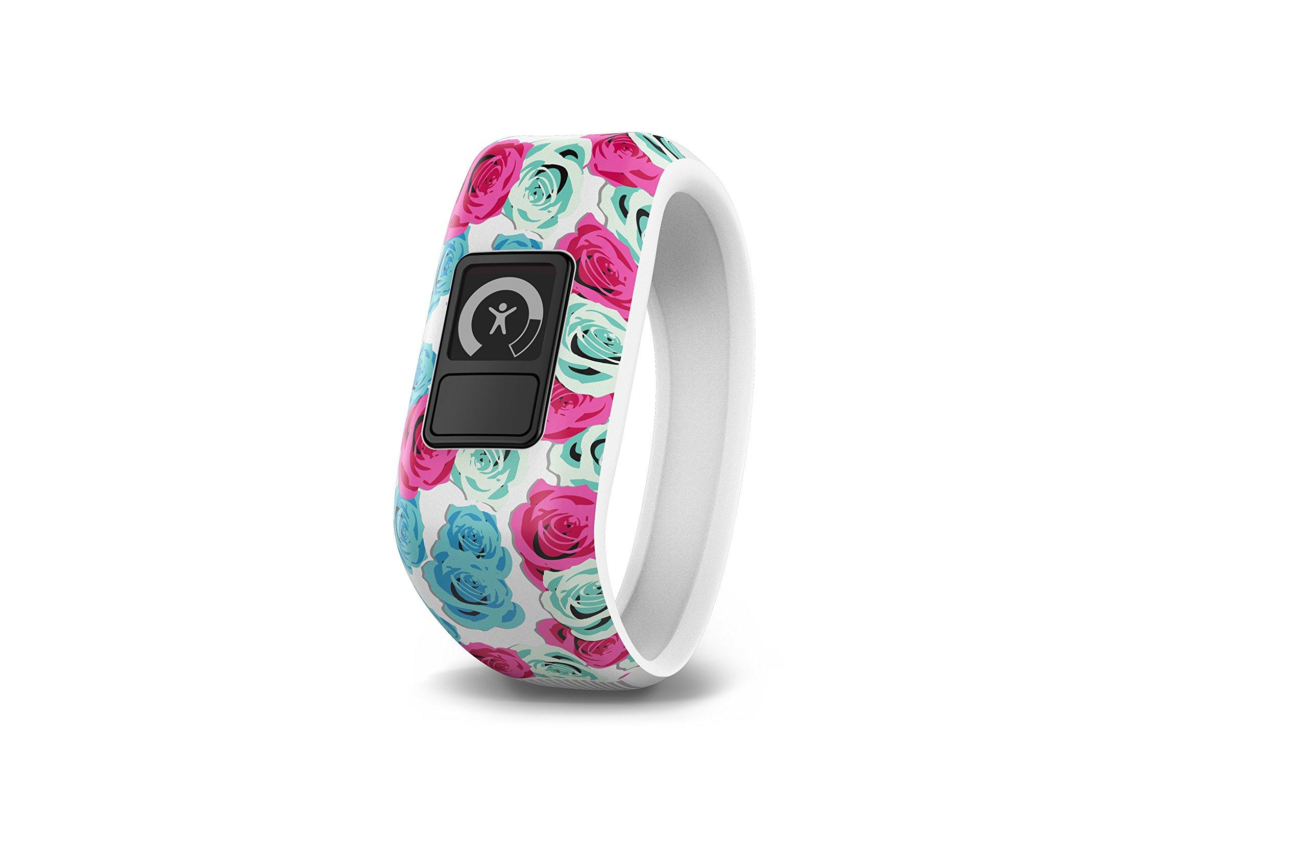 Garmin vívofit jr, Kids Fitness/Activity Tracker, 1year Battery Life, Real Flower