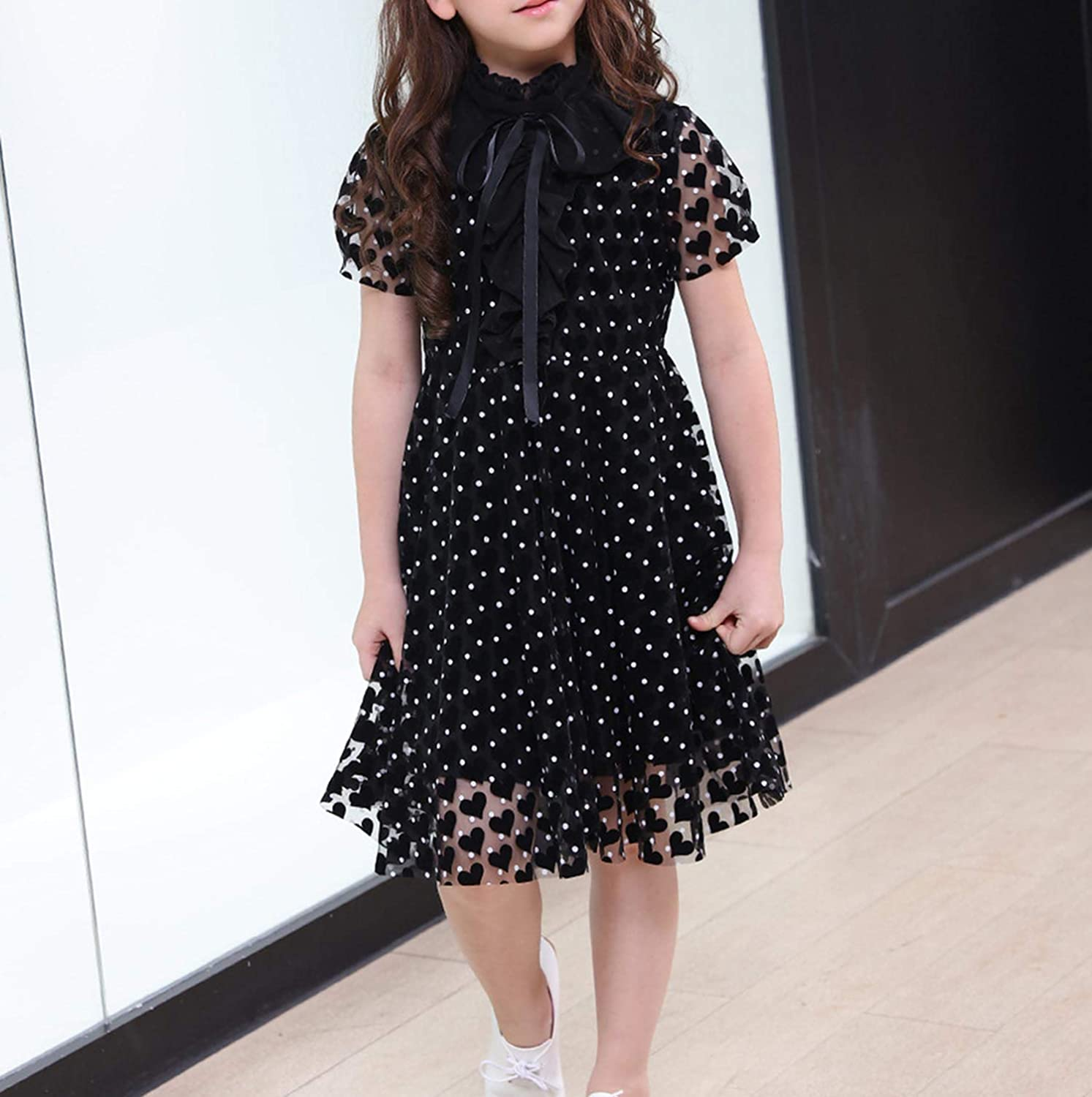 Kids Elegant Dress for Girls Costumes Teen Girl Summer Dresses