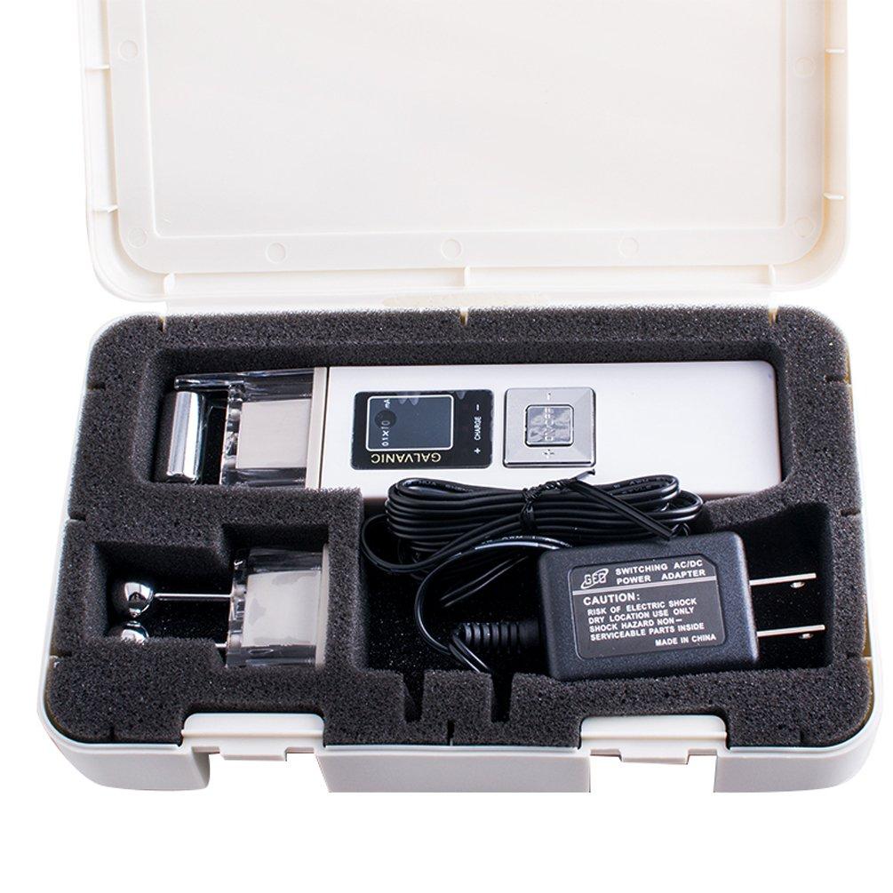 Enshey Portable Galvanic Microcurrent Skin Firming Machine Anti-aging Face Lift Massager Anti -wrinkle Skin Firming & Lifting Device for Face Lifting, Skin Tightening, and Skin Toning, Ship from USA