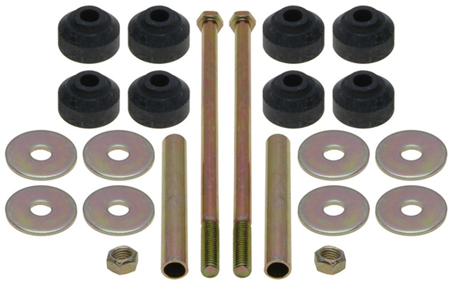 ACDelco 46G0250A Advantage Rear Suspension Stabilizer Bar Link Kit with Hardware