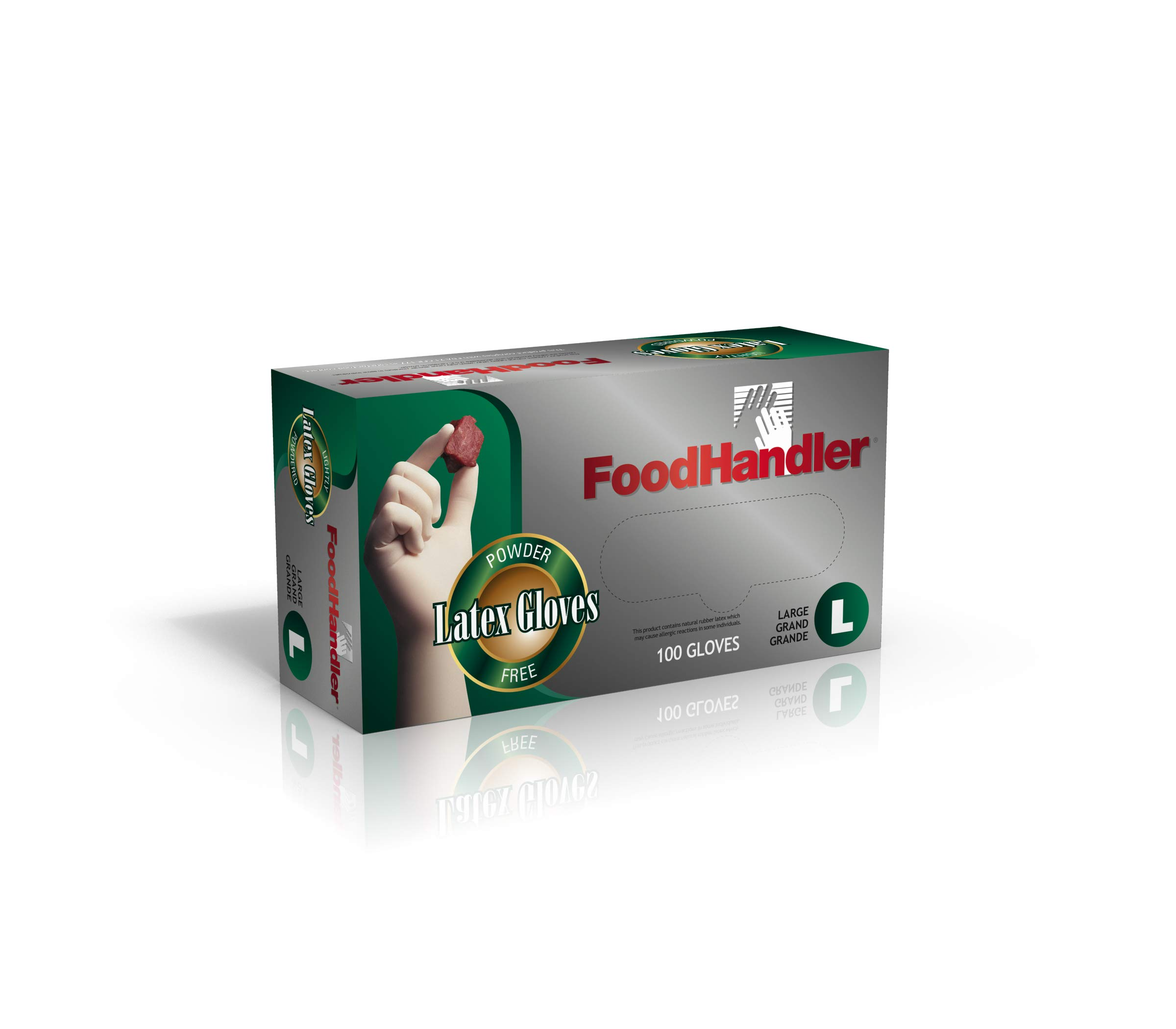 FoodHandler 100-FH16 FoodHandler Classic Latex LG Natural (Pack of 1000) by FoodHandler