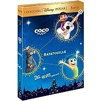 Pack: Coco + Ratatouille + Del Revés [DVD]