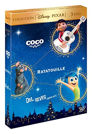 Pack: Coco + Ratatouille + Del Revés [DVD]: Amazon.es: No ...