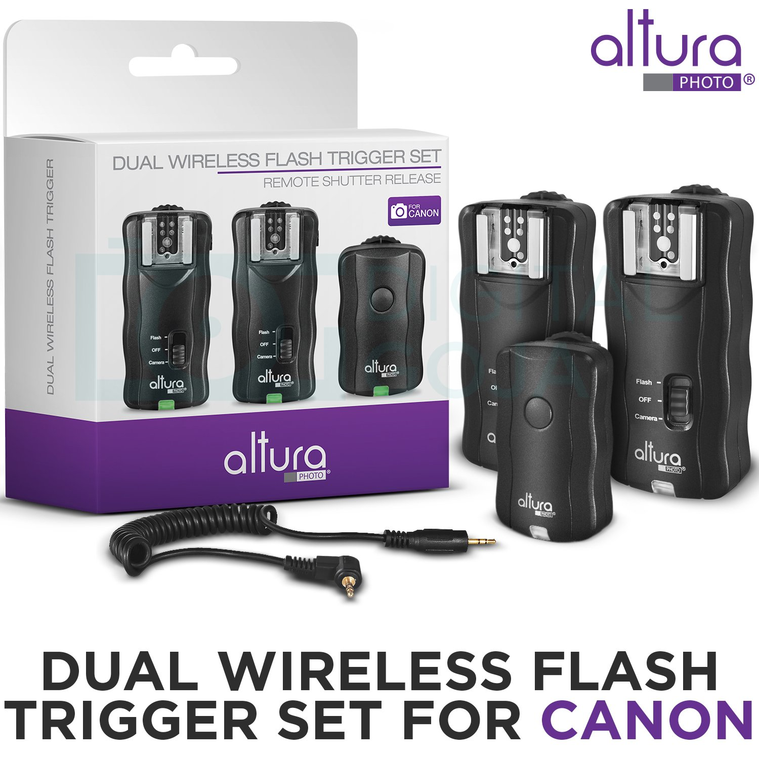Amazoncom 2 Trigger Pack Altura Photo Wireless Flash Trigger For