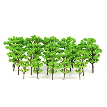 20 Model Trees Railway Warhammer Wargaming Architecture Scenery HO NZ Scale