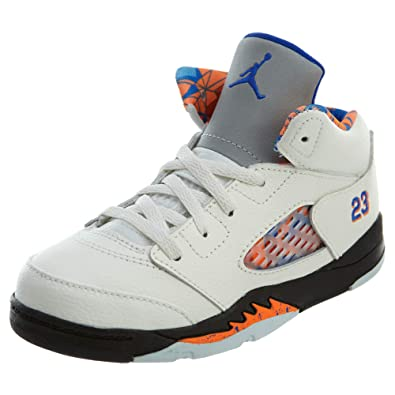 best service a4ad8 b2888 Jordan Baby Boy's Nike 5 Retro Td Infant Basketball Shoes ...