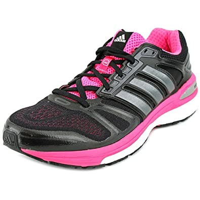 cheap for discount 74c2f aded1 adidas Womens Supernova Sequence 7 Boost, BlackPink, 6 B