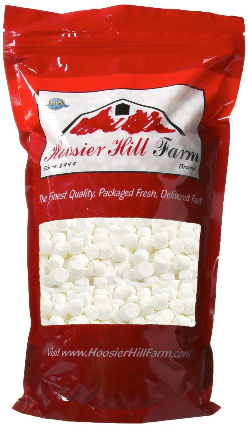 Hoosier Hill Farm White Mini Soft Marshmallows (2 lbs)