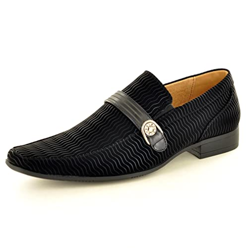 My Perfect Pair - Mocasines para hombre negro negro: Amazon.es: Zapatos y complementos
