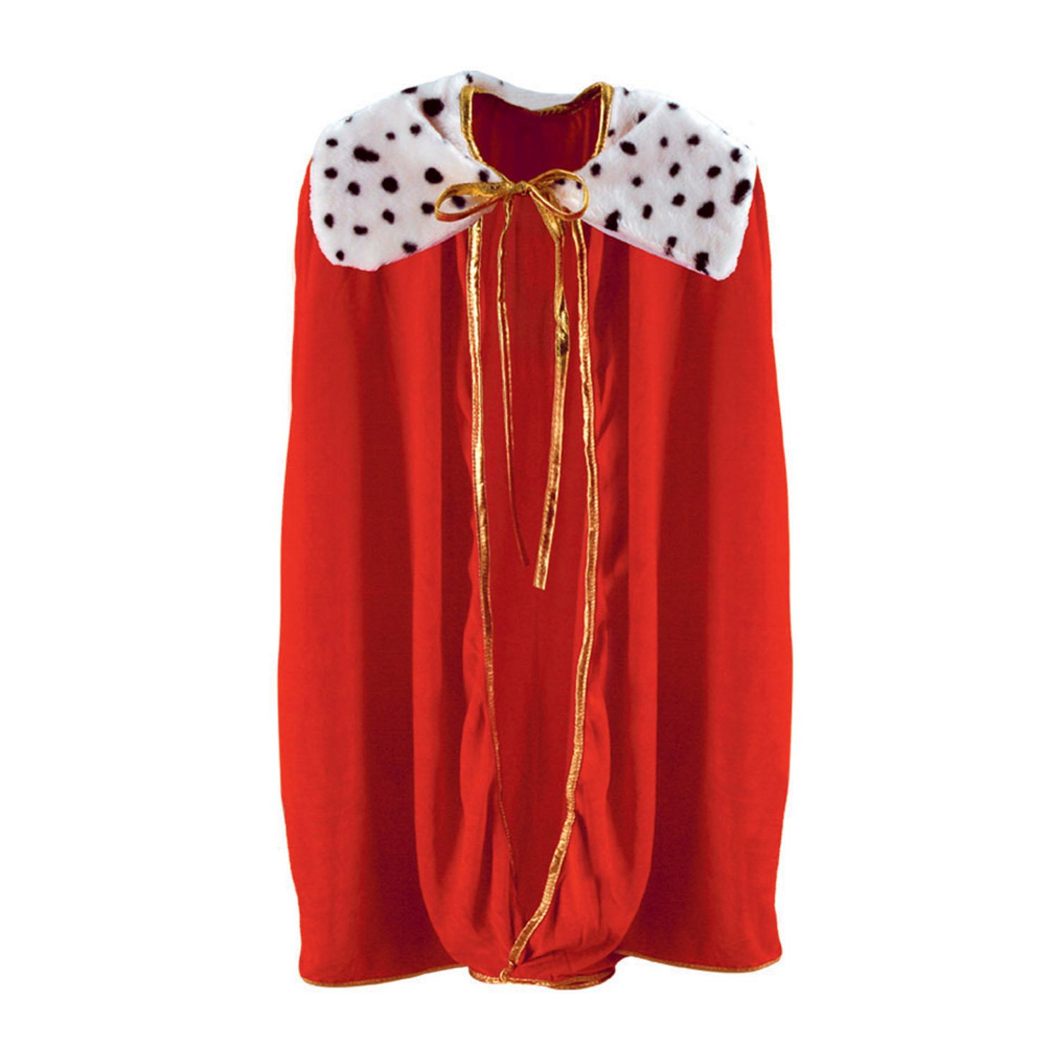 Child King/Queen Robe (red) Party Accessory (1 count) (1/Pkg) The Beistle Company 60254