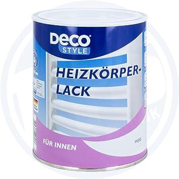 2 X Deco Style Heizkorperlack 1 Liter Weiss Innen Amazon De Baumarkt