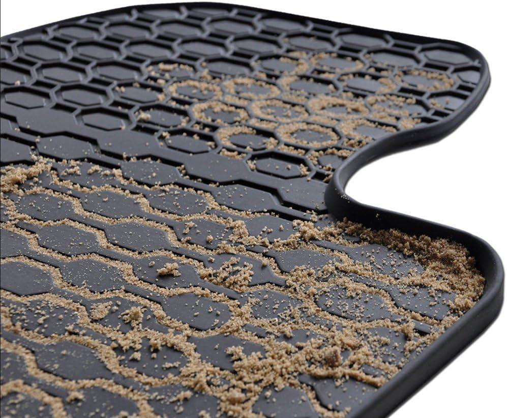 5902538448017 un ajuste perfecto 3-piezas Mossa Alfombrillas de goma 5-plazas negro