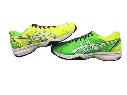 ASICS Gel Padel Exclusive 4 SG Verde Y Amarillo E515N 8501