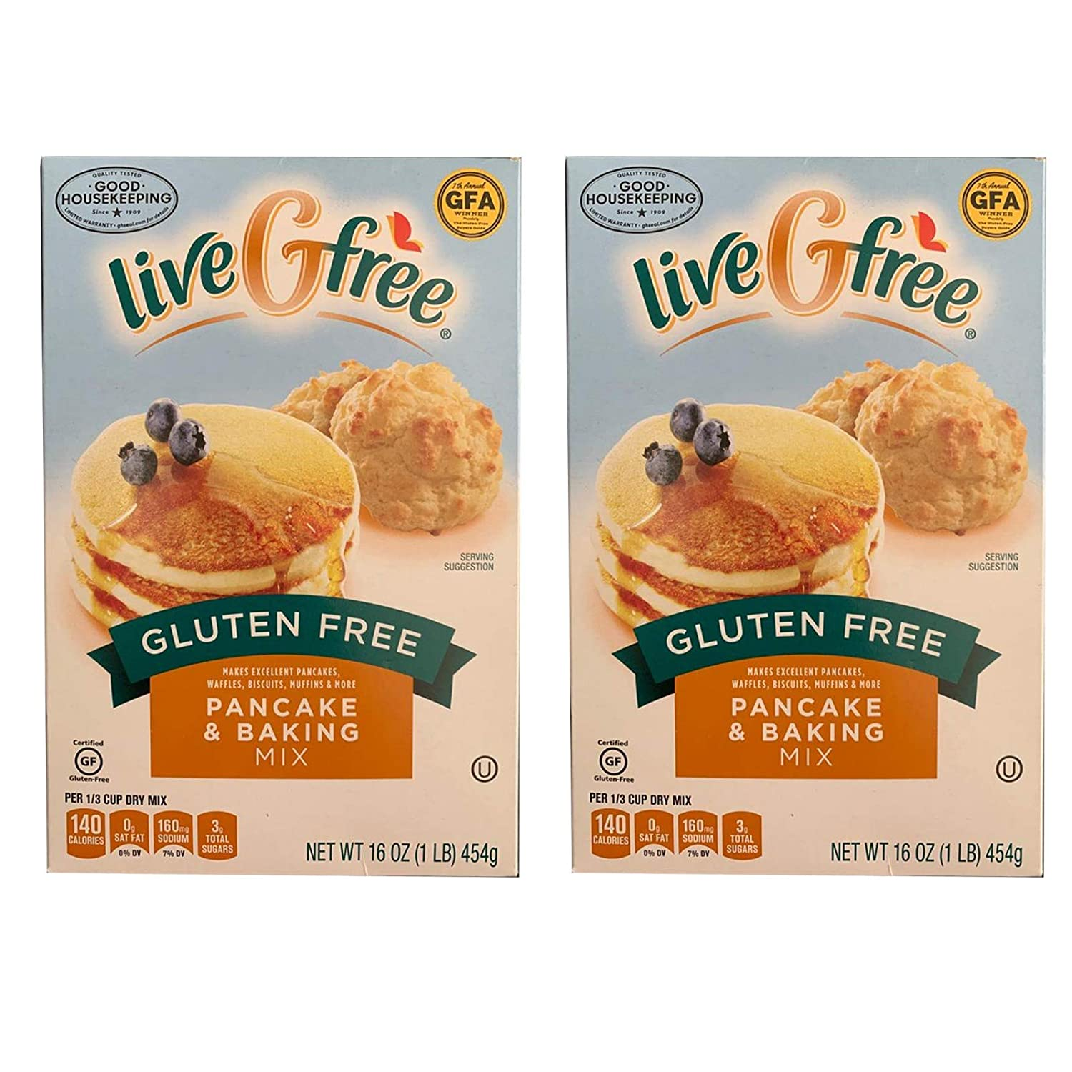 Gluten Free Baking Mix By Live G Free 2-pack