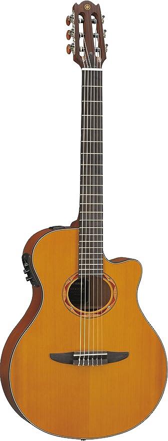Yamaha ntx1200r acústica eléctrica guitarra clásica, color rosa ...