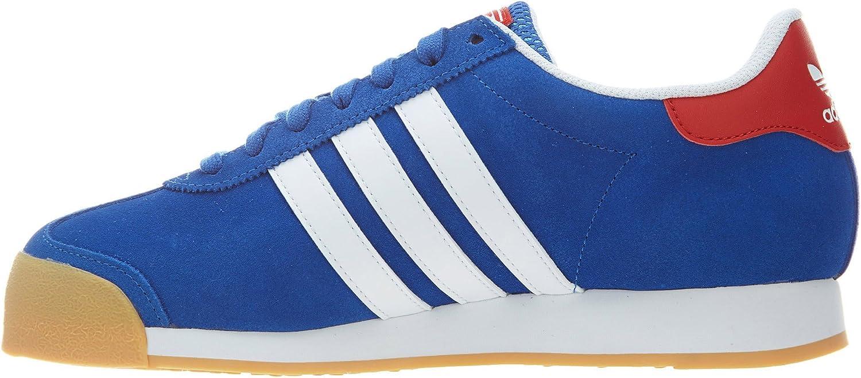 Amazon.com | adidas Samoa #D74609 (10) Blue | Shoes