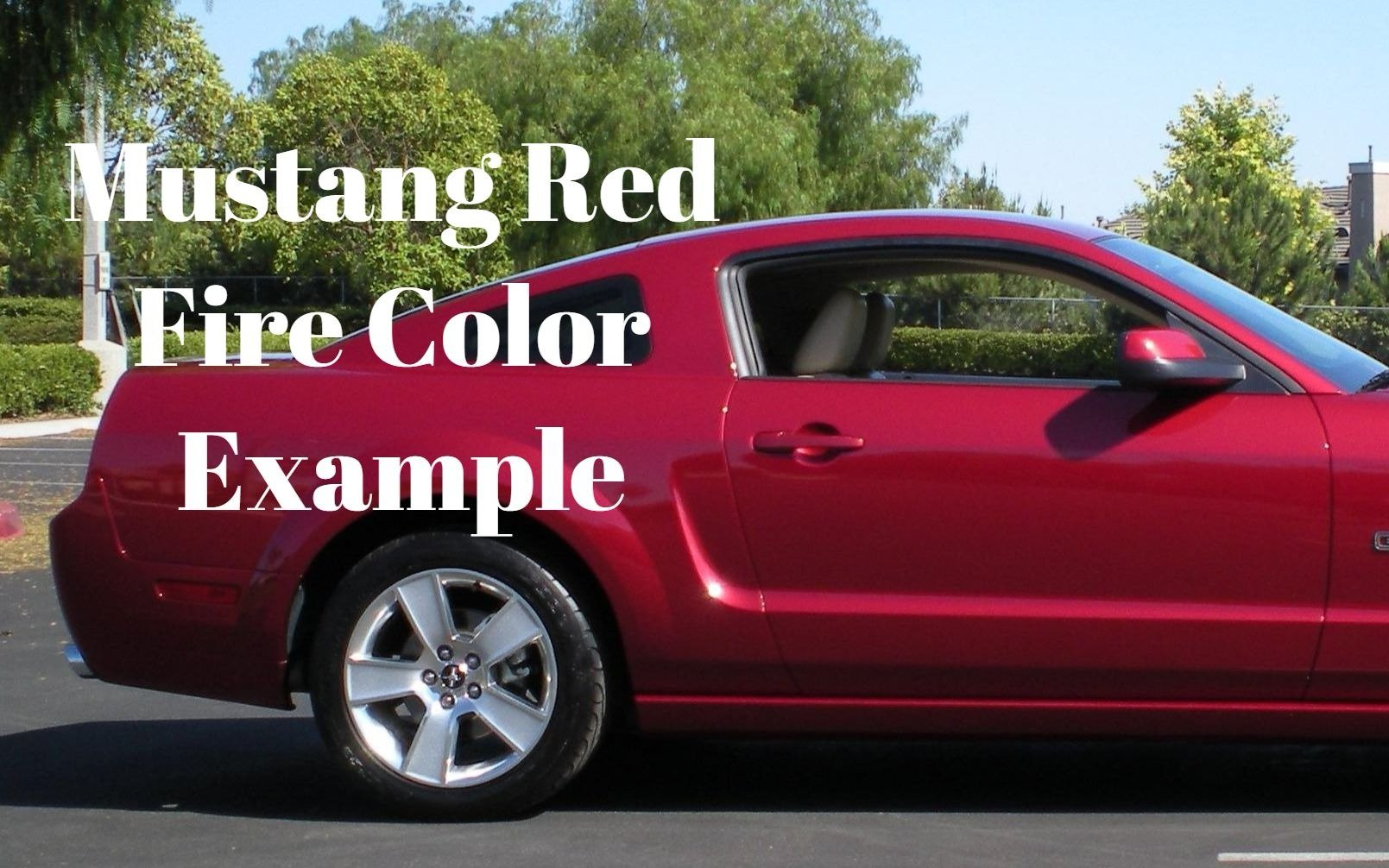 G2 High Heat Temperature Brake Caliper Paint Kit system Set Custom Mustang Color Red Fire Made in the USA