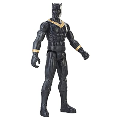 Marvel Black Panther Titan Hero Series 12-inch Erik Killmonger: Toys & Games