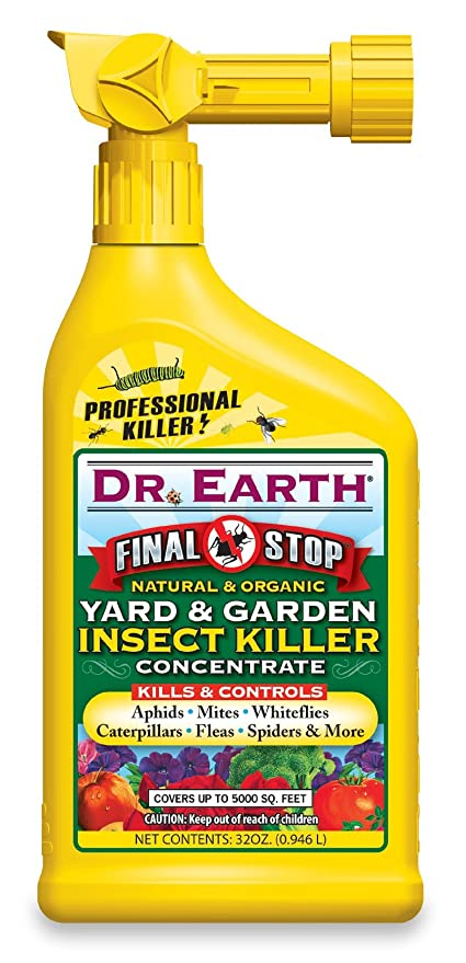 dr earth 8004 ready to spray yard and garden insect killer 32 ounce - Yard And Garden