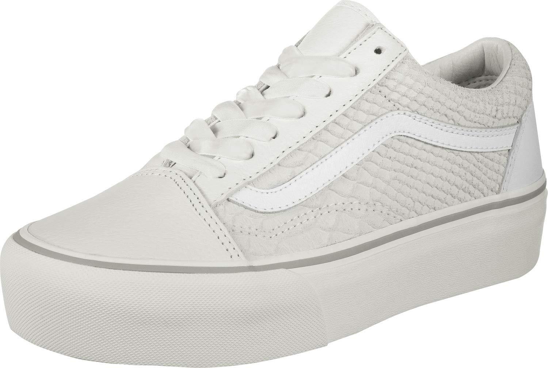 6a770e67d0f Galleon - Vans Women s Old Skool Platform Skate Shoes (8 M US Women  6.5 M  US Men