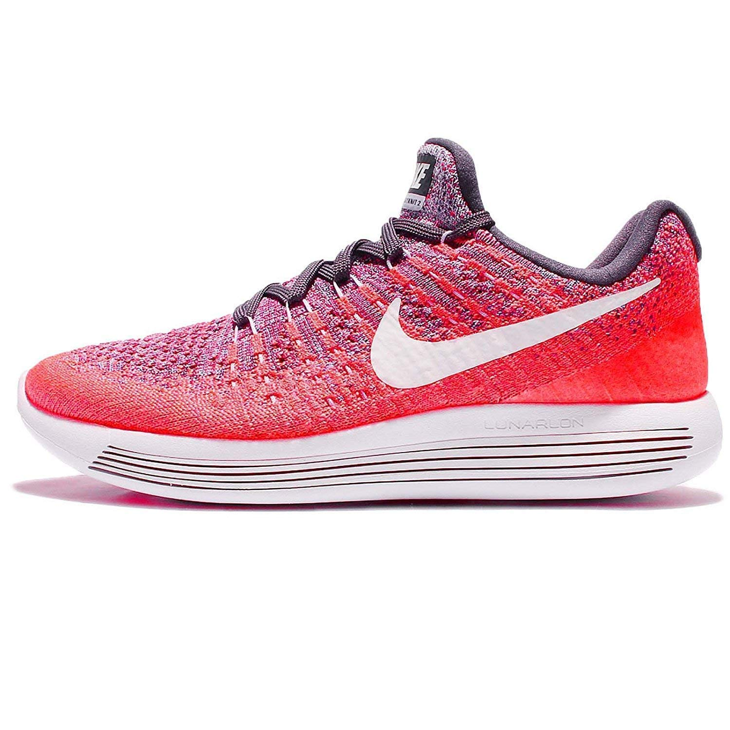 Korall   violet   Blanc Nike Lunarepic Low Flyknit 2, Chaussures de Running Homme 39 EU