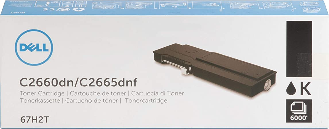 MG Compatible Toner Cartridges C2660DN C2665DNF; Cyan Ink Replacement for Dell 593-BBBT; Models CDC2660C