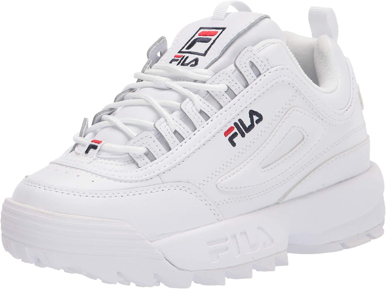 Fila Disruptor Ii White Leather - 8 UK