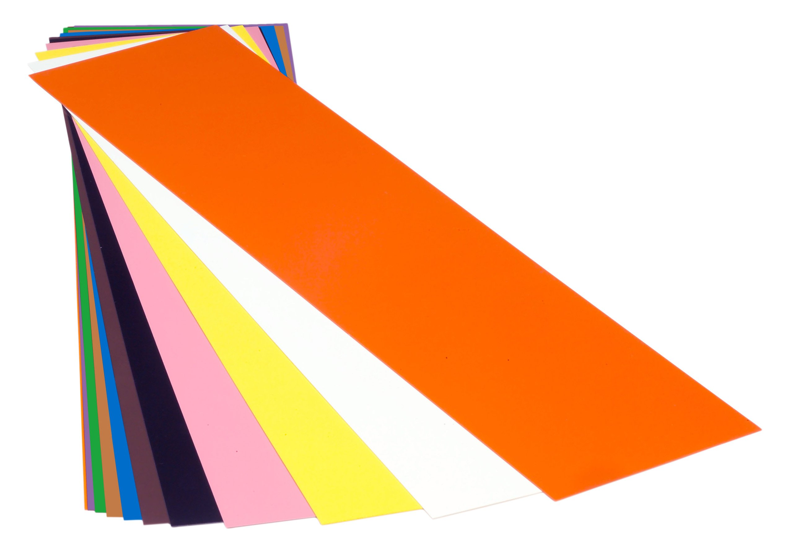 PVC (Polyvinyl Chloride) Shim Stock, Flat Sheet,  Clear, 0.050'' Thickness, 10'' Width, 20'' Length (Pack of 3) by Small Parts