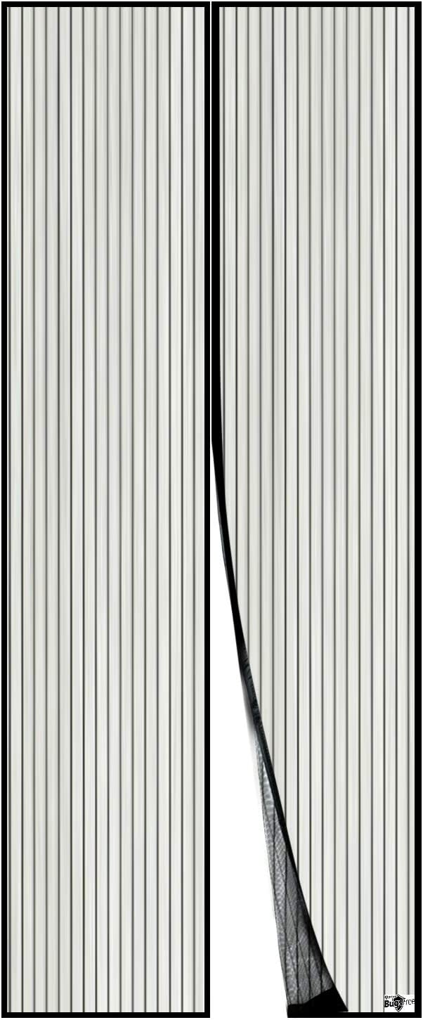 "Apalus Magnetic Screen Door, 36""x83"" Super Strong Fly Mesh, 28 Magnets from Top to Bottom Ultra Seal Magnets Close Automatically - -"