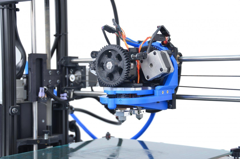 Lulzbot TAZ Dual Extruder 3D Printer Tool Head