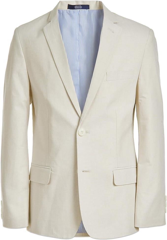 Izod Big Boys Formal Dress Pant and Blazer Suit Jacket