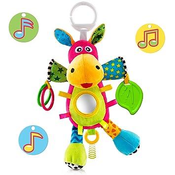Amazon.com: OKIKI Juguete de peluche para bebé, juguetes de ...
