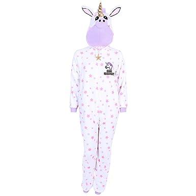 9eb7b7ee75 Einhorn Ganzkörper Schlafanzug Schlafoverall Onesie Einteiler - 30 / UK 4 /  EU 32