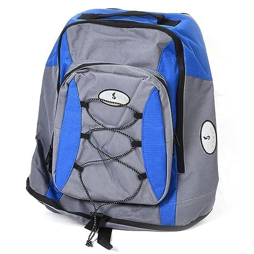 Amazon.com : Assento DealMux poliéster traseira da bicicleta Waterproof Triplo bicicleta Saddle Bag azul w Raincoat : Sports & Outdoors