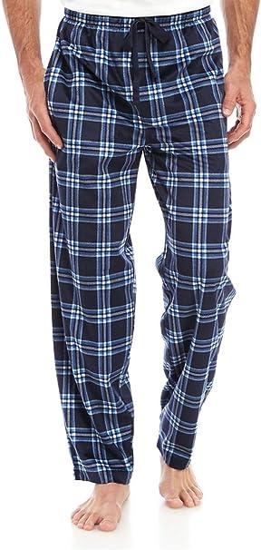 New Mens Flannel Fleece Pajama Pant Lounge Pants Size S M L XL XXL