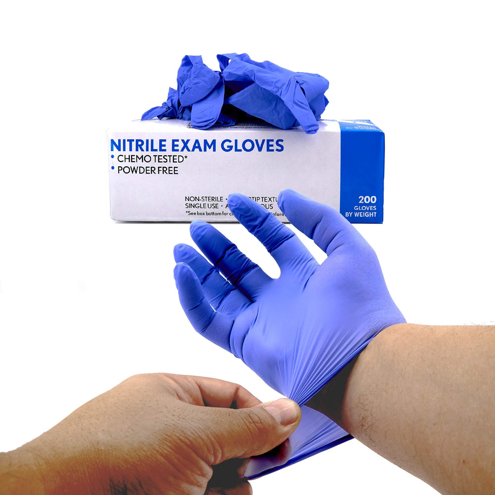 SRENTA Nitrile Exam Grade Gloves, Chemo