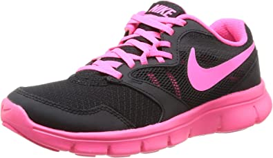 Nike Flex Experience 3 (GS), Zapatillas de Running para Niñas, Negro/Rosa/Blanco (Black/Hyper Pink-White), 35 1/2 EU: Amazon.es: Zapatos y complementos