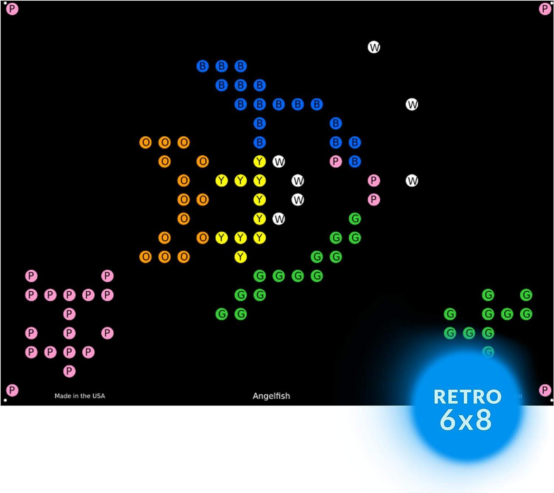 IllumiPeg Under The Sea Refill templates for Basic Fun Lite Brite Ultimate Classic Toy 10 Sheets, 7x8