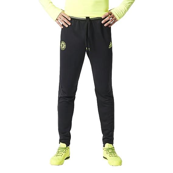 f7216e16f adidas Men's Chelsea FC Training Pants, Black/Granite/Solar Yellow, XLTG:  Amazon.ca: Sports & Outdoors