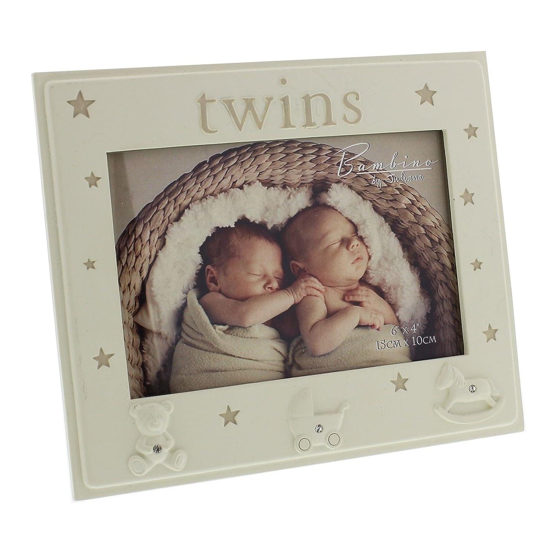 Bambino Photo Frame 5' x 3.5' Twins Widdop