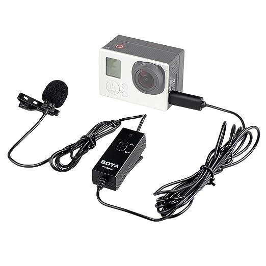 2 opinioni per BOYA BY-GM10 Omni-Direzionale condensatore microfono Lavalier per GoPro Hero3