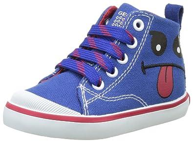 b58d135b12ea49 Geox B Kiwi Boy B, Chaussures Bébé Marche garçon, Bleu (ROYAL/ORANGEC0685