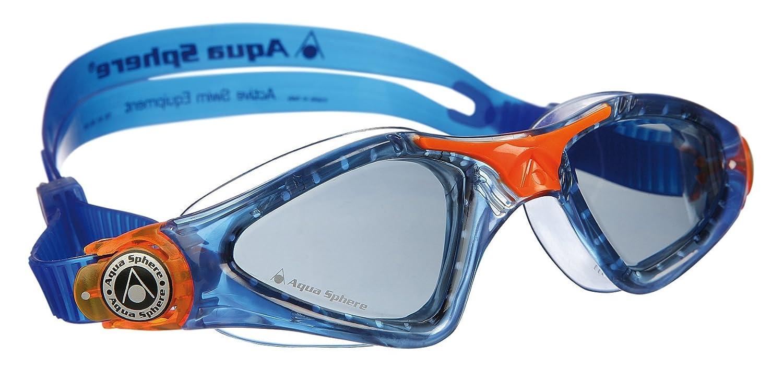 378c34b4adf Aqua Sphere Kid's Kayenne Junior Boy's and Girl's Swimming Goggles,  Blue/Orange, Junior: Amazon.co.uk: Sports & Outdoors