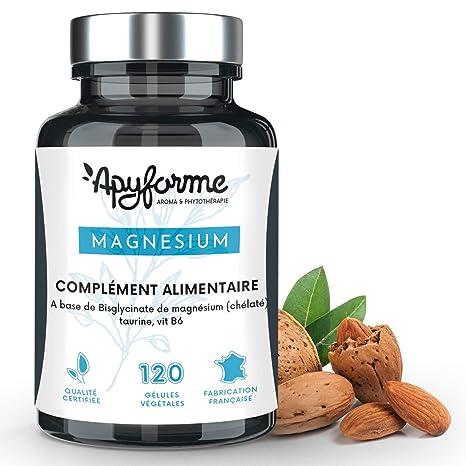 Apyforme - Magnesio - Magnesio vegetal - Bisglicinato de magnesio ...