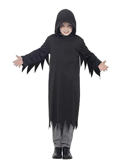 Smiffys Disfraz de Cazador de Almas siniestro, Negro, con ...
