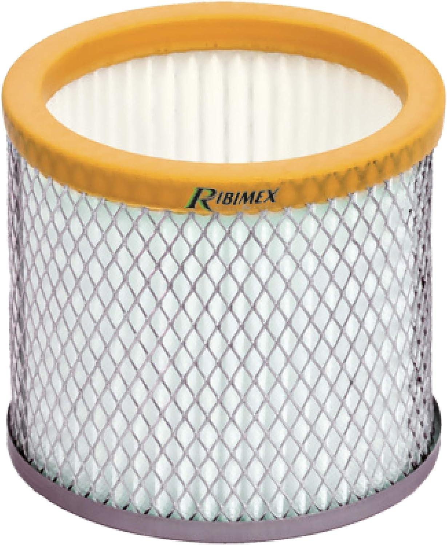 Ribimex - Filtro HEPA con jaula metálica para aspirador de cenizas ...