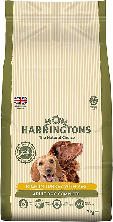 Amazon Com Harringtons Complete Dry Dog Food Rich In Turkey With